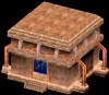 Istaria MMO - Blacksmith Shop a buildable plot structure that is persistant in the game world