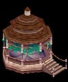 Istaria MMO - Gazebo a buildable plot structure that is persistant in the game world