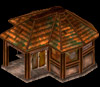 Istaria MMO - Leatherworking Shop a buildable plot structure that is persistant in the game world